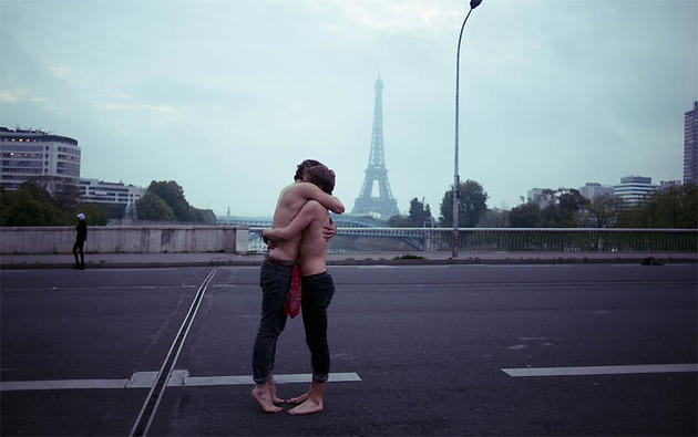 Hugging Hipsters in France