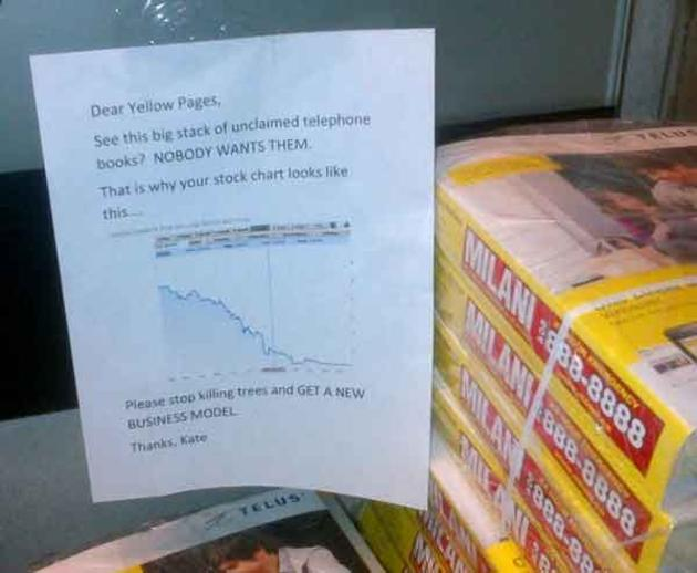 yellow pages truth funny
