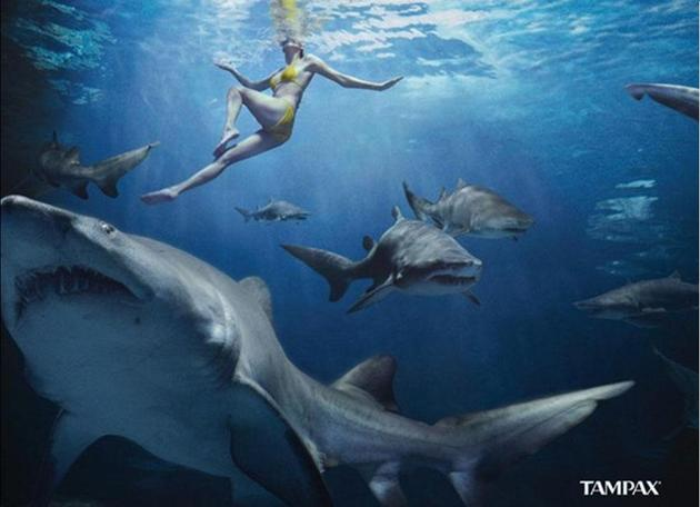 tampax advertisement clever