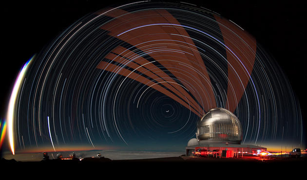 Mauna Kea Observatory at Night HD