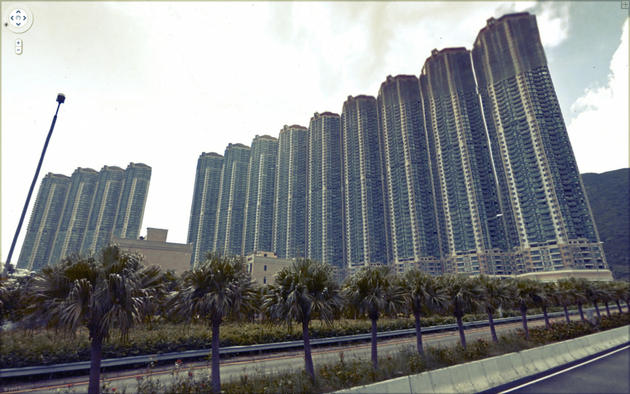 Crazy Buildings Google Maps
