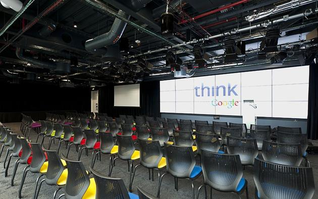 Presentation area in Google's Offices