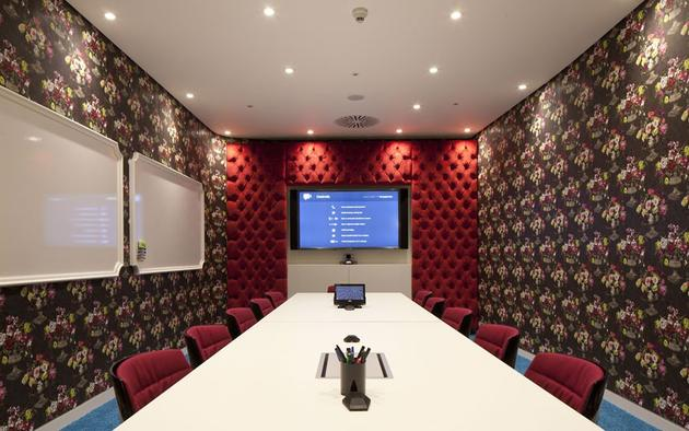 Google office meeting room