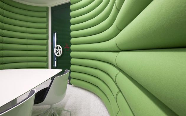 Another padded room for meetings