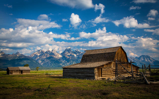 Grand Teton National Park by Robert Bynum