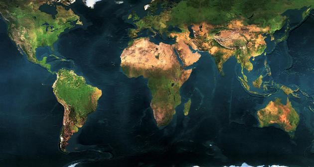 Daily Wallpaper High Resolution Detailed Map of the World – Map World High Resolution