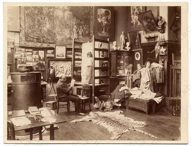 Gustave Boulanger Private Study Room