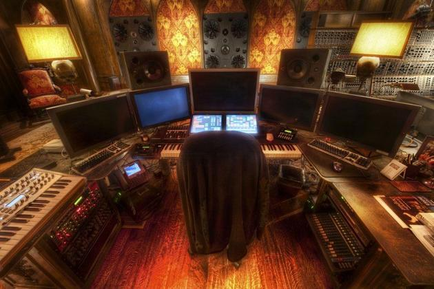 Hans Zimmer's Office and Studio