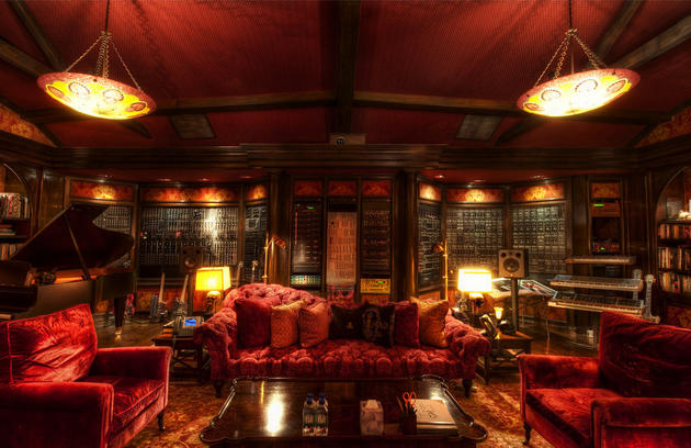 Hans Zimmer Private Study Room