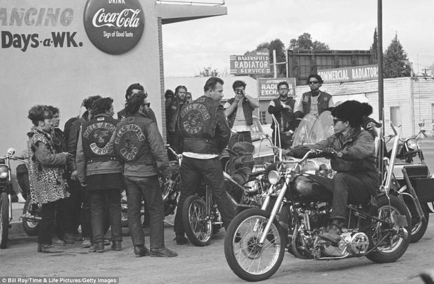 hells angels hang out