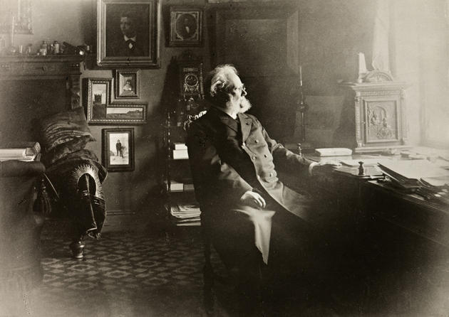 Henrik Ibsen Private Study Room