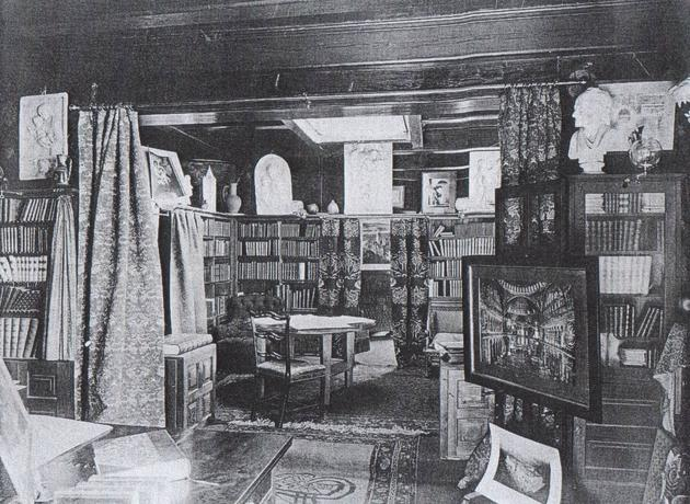 Henry Hobson Richardson Private Study Room