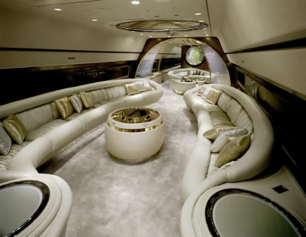 Luxury Jet Interior