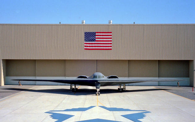 B-2 Spirit unveiled 1988