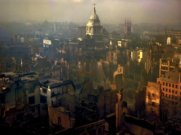 London England after bombing