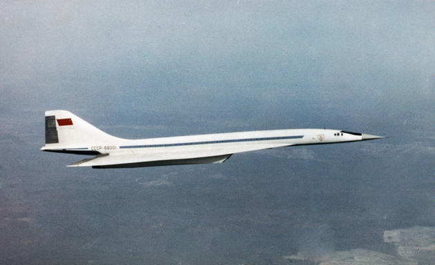 Tu 144 test flight