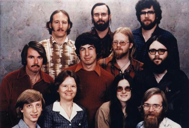 Microsoft Staff Photo 1978