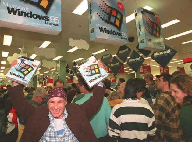 Windows 95 Launch