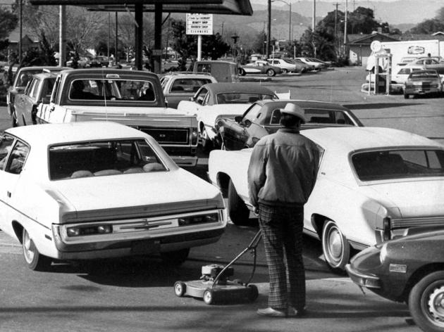 1973 Oil shortage in the USA