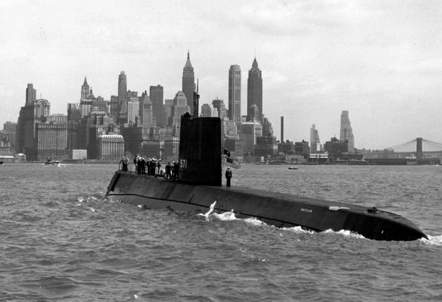 USS Nautilus first nuclear submarine in New York