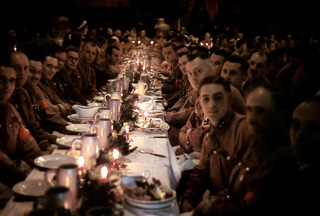 Christmas party that hitler threw