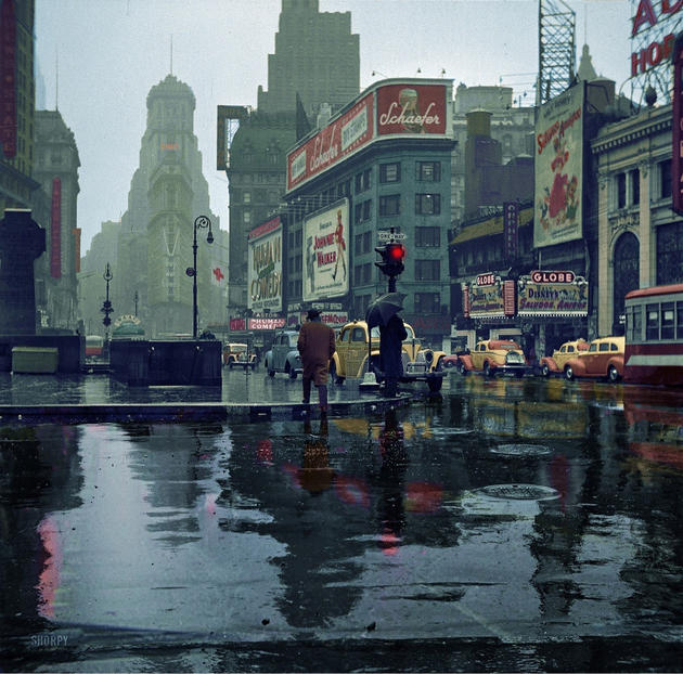 New York Time Square 1943