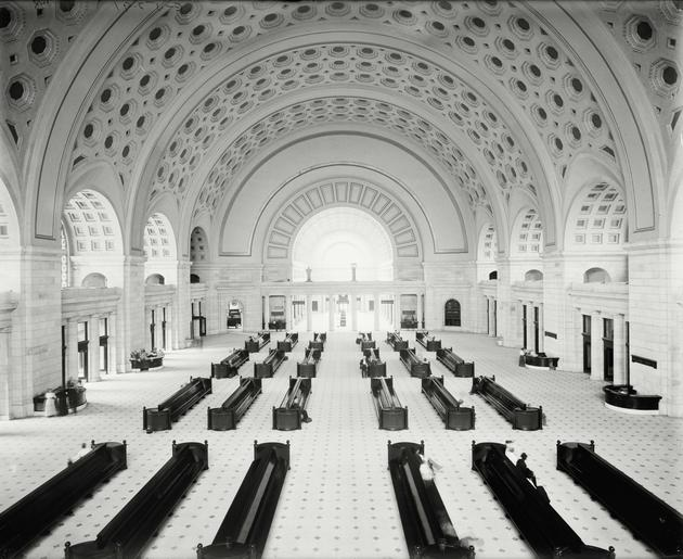 Union Station in Washington DC 1905