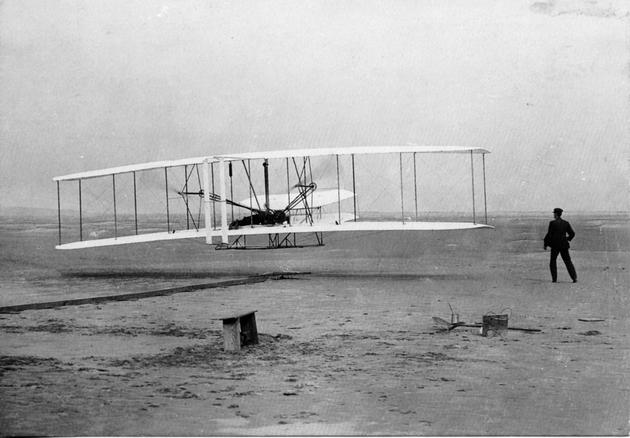 Wright Brothers first flight 1903 Dec 17
