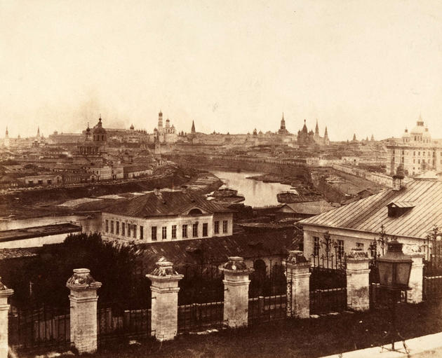 Kremlin, Moscow, Russia 1852