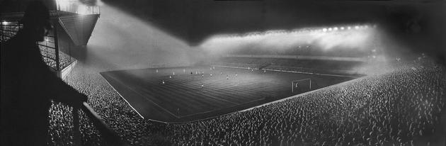 Arsenal stadium in England 1951