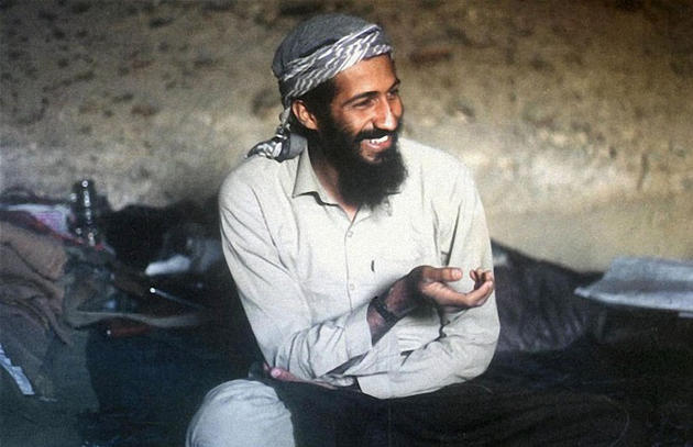 Young Osama while being assisted by the CIA in the fight against the Soviets
