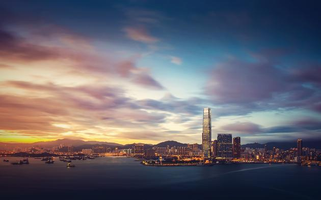Daily Wallpaper Hong Kong At Sunrise I Like To Waste My Time