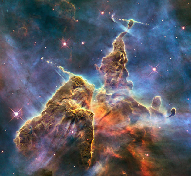 Mystic Mountain Hubble