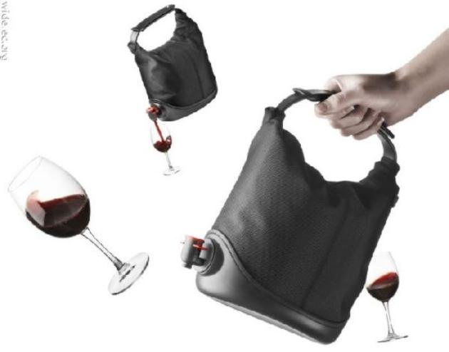Buy a winecoat wine bag online