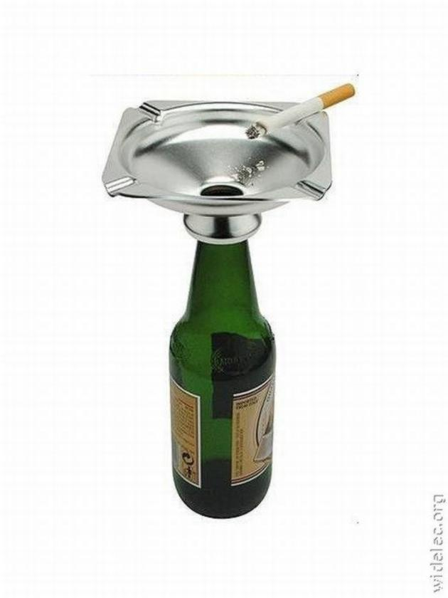 Buy a bottle ashtray online