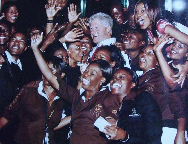 bill clinton pimp