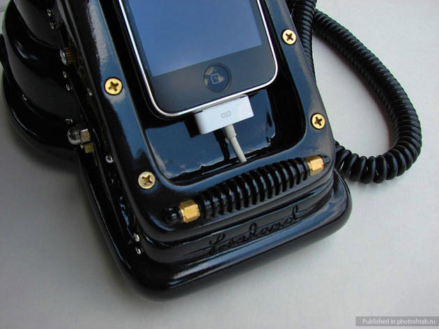 iphone cradle