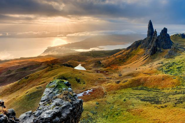 Isle of Sky Scotland HD Wallpaper