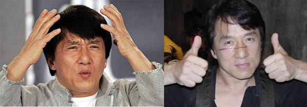 Jackie Chan Stunt Double