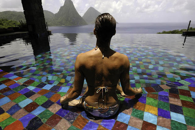 Jade Mountain, Saint Lucia Romantic Resort