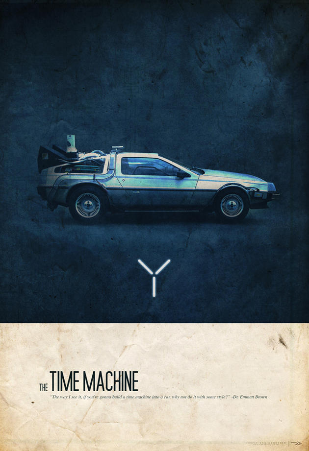 Justin Van Genderen DeLorean Time Machine