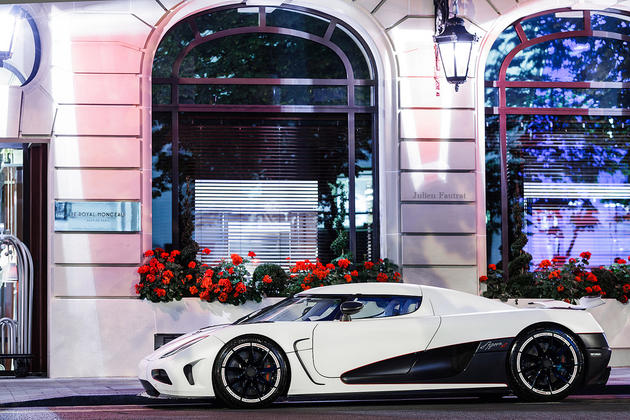 Koenigsegg Agera R in Paris