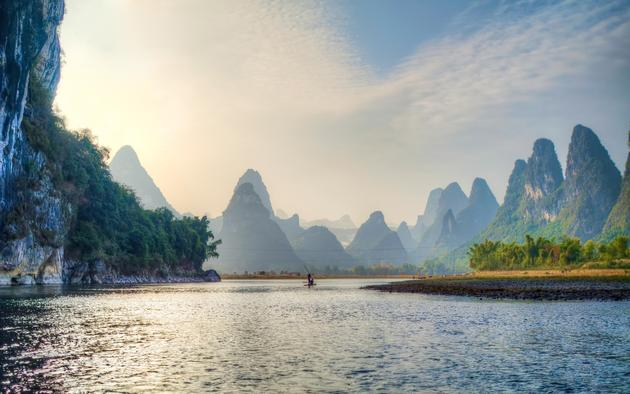 Lijiang River, China HD Wallpaper