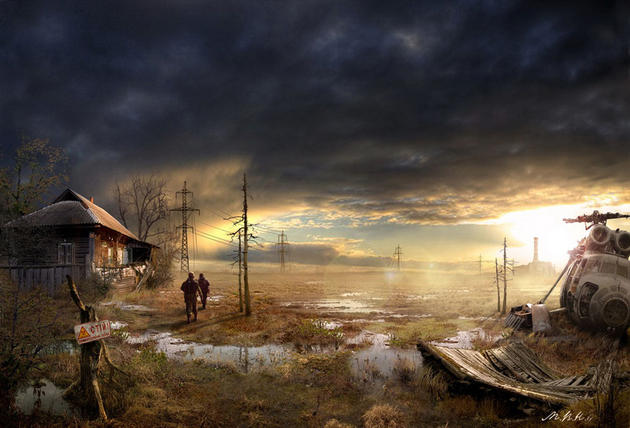 Post apocalypse country side