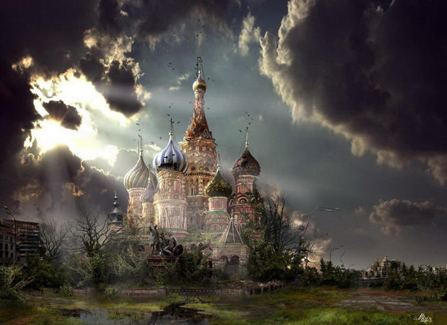 Red Square post apocalypse