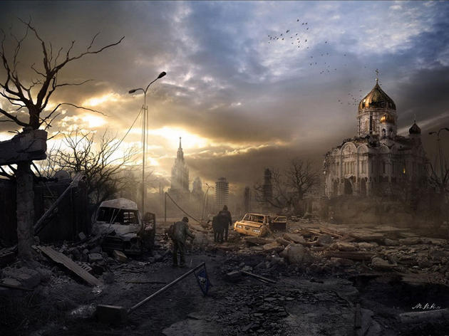 Old Church Post apocalypse