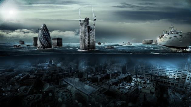 London Underwater Apocalypse Drowned