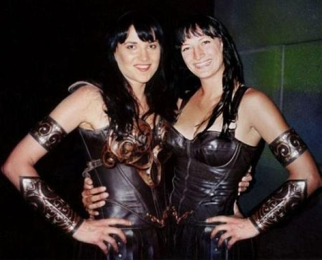 Lucy Lawless Zoe Bell Stunt Double