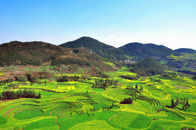 Beautiful mountains of Luoping