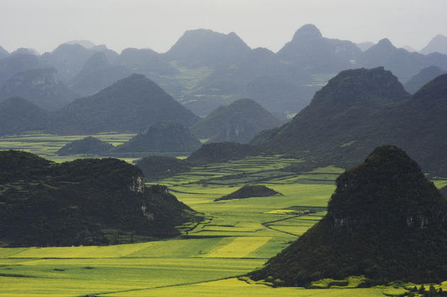 Hills of Luoping